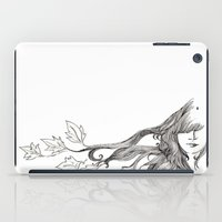 wind iPad Cases featuring Wind by Ilariabp.art