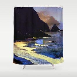 Gold Beach On The Oregon Coast Shower Curtain