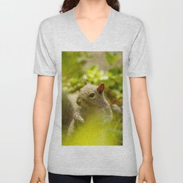 Squirrel! Unisex V-Neck