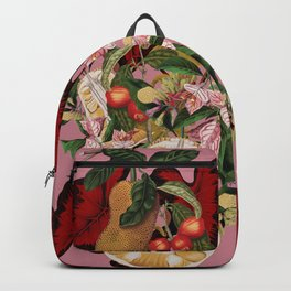 Red foliage Backpack