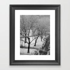 Winter Frost Framed Art Print