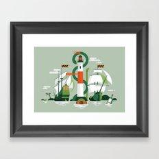 Sea of Adventure Framed Art Print