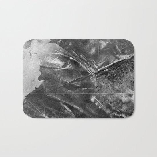 Black Crystal Bath Mat