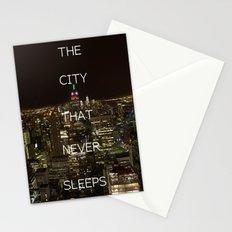 New York, New York. Stationery Cards