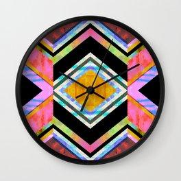 Hana Chevron Wall Clock