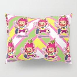Dragon fruit kid Pillow Sham