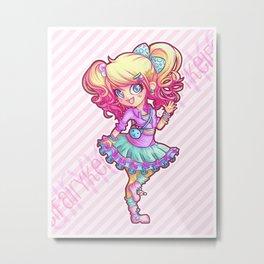 Fairy Kei Cutie Metal Print