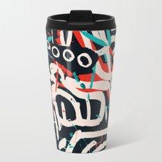 Street Art Pattern Graffiti Post Travel Mug