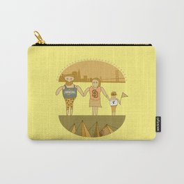 west coast tourists in a burger Carry-All Pouch
