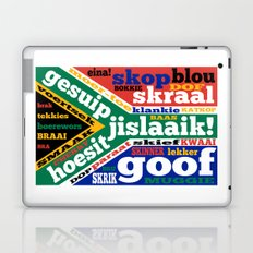 South African slang and colloquialisms Laptop & iPad Skin