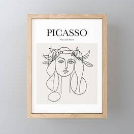Picasso - War and Peace Framed Mini Art Print