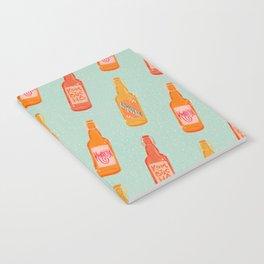 Kombucha Bottles - Mint Palette Notebook