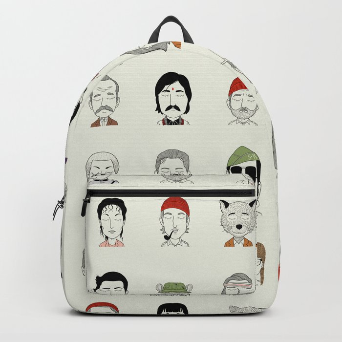 The Characters of W Backpack