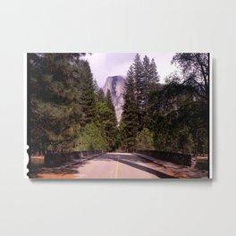 Ahwahnee Bridge, Yosemite Village Metal Print