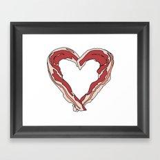 Baconlove Framed Art Print