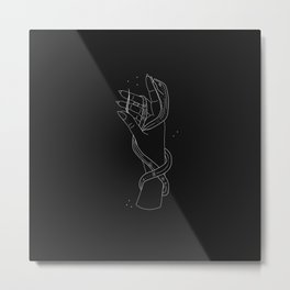 The Key - Illustration Metal Print