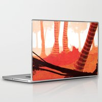 forrest Laptop & iPad Skins featuring Dawn forrest by Rafael T. Pimentel