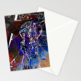 Moden Basketball art 9 Stationery Cards