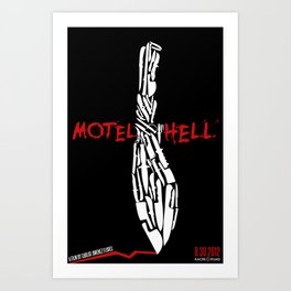 Motel Hell 2012 Takri Art Print