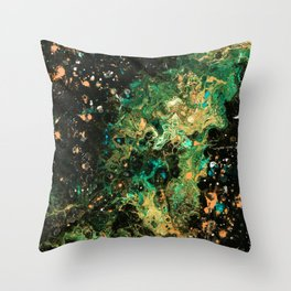 Star Burst II Throw Pillow