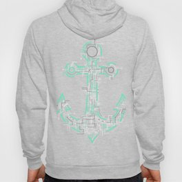 Electric Anchor Art Hoody