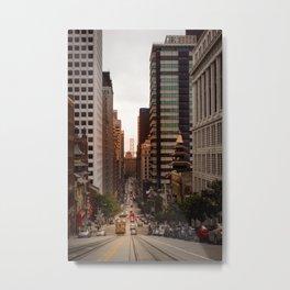 Lingering in San Francisco Metal Print