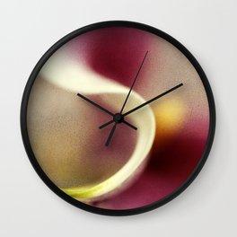 Calla Lily AbstractI Wall Clock