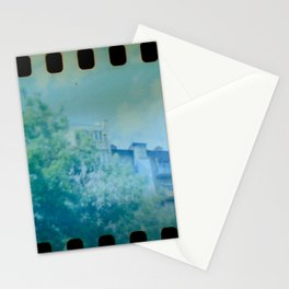 House panorama with Film Perforation in Kyiv, Ukraine Stationery Cards