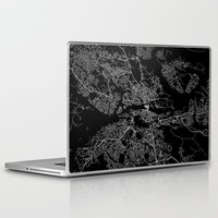 stockholm Laptop & iPad Skins featuring Stockholm  by Line Line Lines