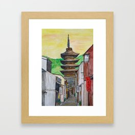 Kyoto, Japan Framed Art Print