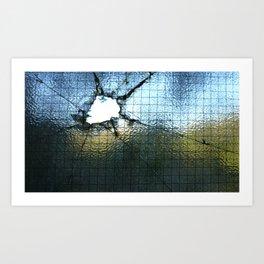 Crack Art Print