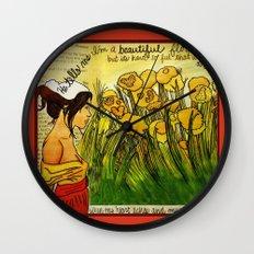 heart aches Wall Clock
