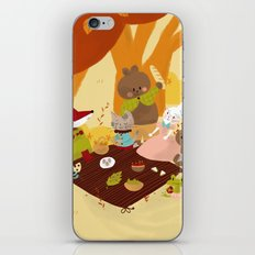 Picnic iPhone & iPod Skin
