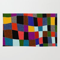quilt Area & Throw Rugs featuring Quilt  by Tuuli Holman