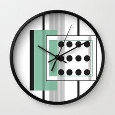 Dominoeffekt Wall Clock
