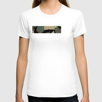 camo T-shirts featuring Woodland Camo by Derek Boman
