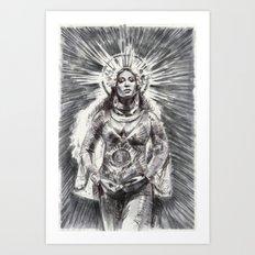 Queen Bey Art Print