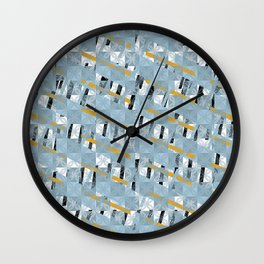 mosaico1 Wall Clock