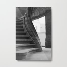 Sand stone spiral staircase Metal Print