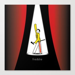 Freddie at the Opera Canvas Print