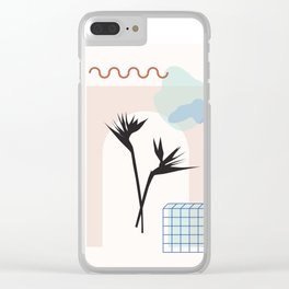 // Royal Gardens 01 Clear iPhone Case
