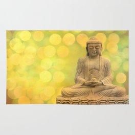 Buddha light yellow Rug