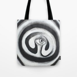 Eye Spiral Out Tote Bag
