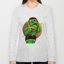 Alien B-Girl Selfie Long Sleeve T-shirt
