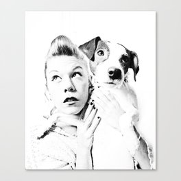 Goofy'n'me Canvas Print