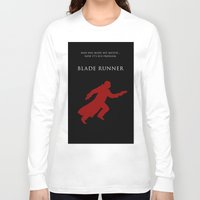 blade runner Long Sleeve T-shirts featuring BLADE RUNNER by tanman1