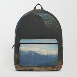 on top of mountain and beneath the stars Backpack