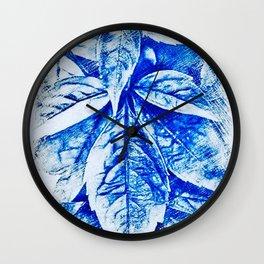 Marajuana Pot Leaves Wall Clock