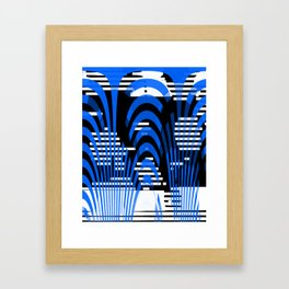 interlacing Framed Art Print