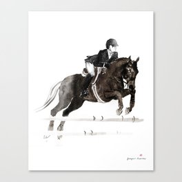 Horse (Jumper II) Canvas Print